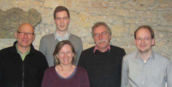 Neuer Vorstand der Grünen 2014 in der Backnanger Bucht