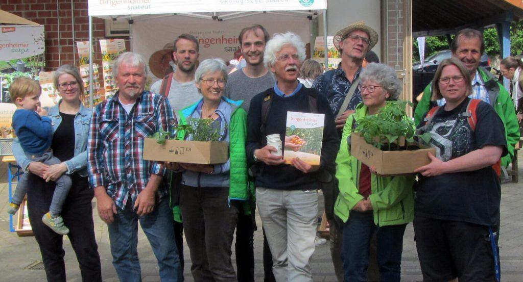 Nachhaltige Landwirtschaft: Themenreise des Ortsverbandes B90/GRÜNE Backnanger Bucht zur Bingenheimer Saatgut AG.