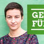 Ska Keller und Sven Giegold, Abgeordnete im Europa-Parlament und Spitzenkandidat*innen der Grünen zur Europawahl