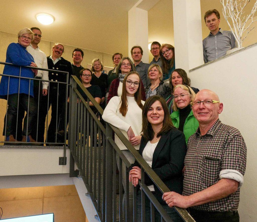 KandidatInnen Grüne Backnanger Bucht - Gemeinderat Backnang - Kommunalwahl 2019. Foto: Edgar Layer.