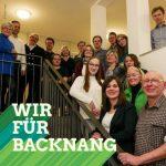 Gemeinderatswahl Backnang 2019 Grüne KandidatInnen